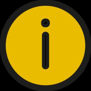 Icons Info Yellow
